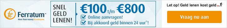 Snel en Eenvoudig Geld Lenen Online Bij Ferratum!