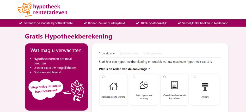 Maximale hypotheek berekenen_ Snel, eenvoudig en vrijblijvend_ - hypotheek-rentetarieven_nl